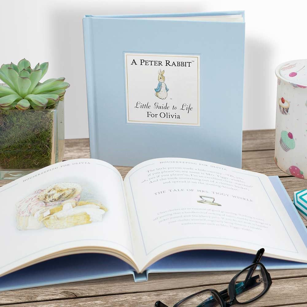 Peter Rabbits Personalised Little Book of Life