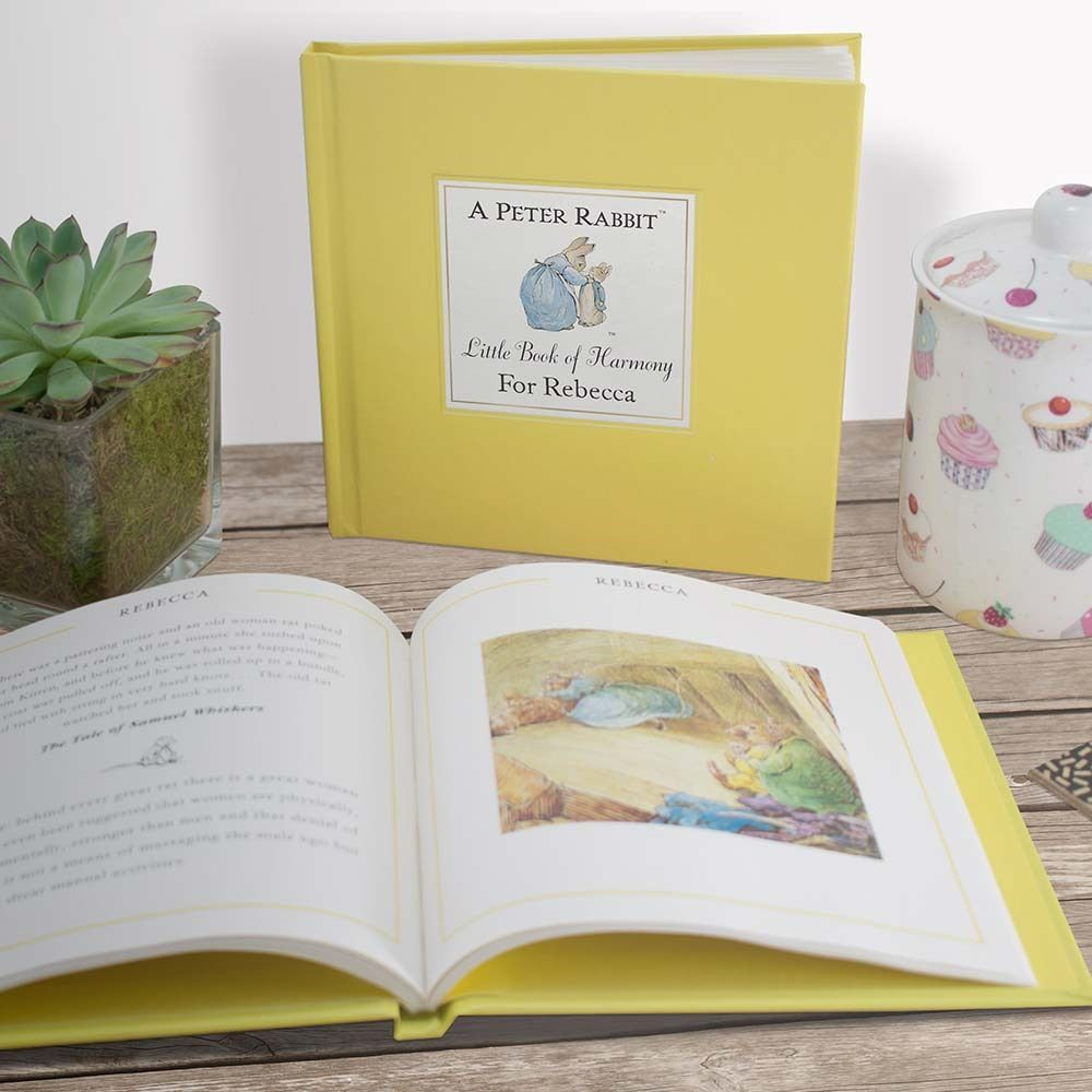 Beatrix Potter Personalised Little Book of Harmony