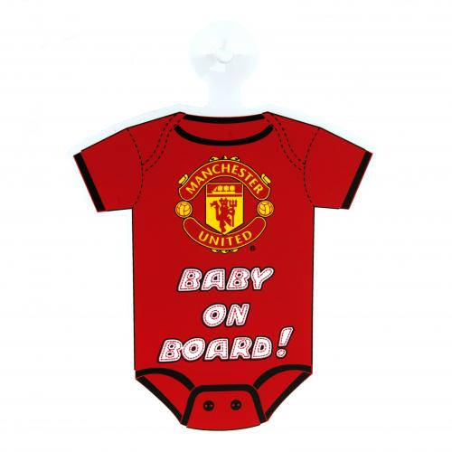 Manchester United F.C. Baby On Board Sign