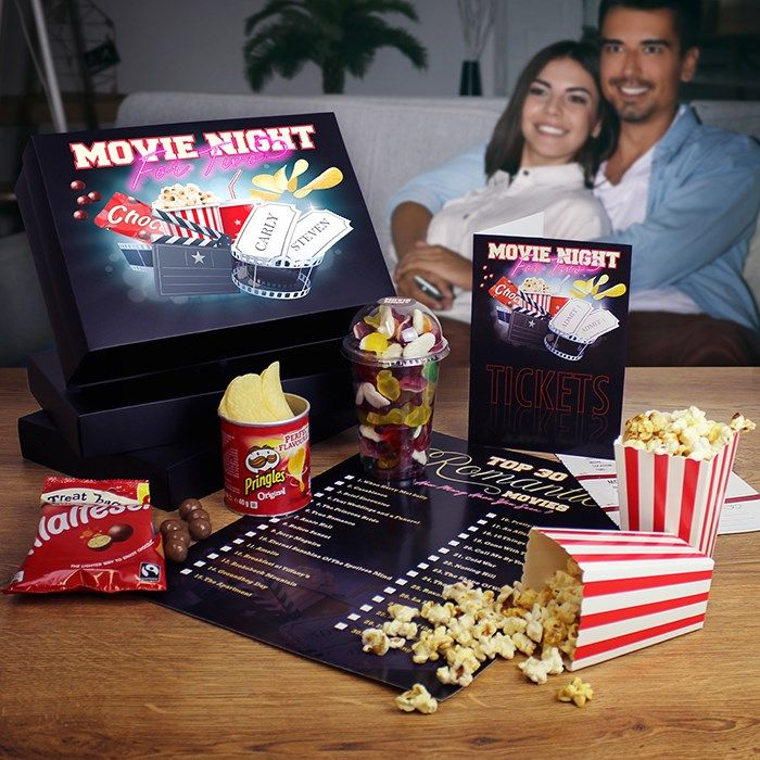 Personalised Movie Night for 2 Box