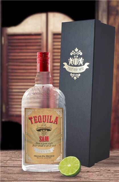 Personalised Tequila with gift box